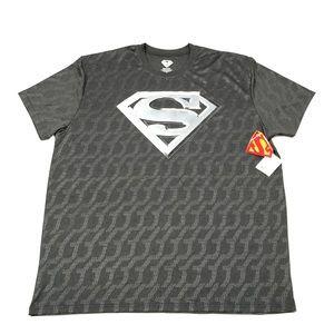 Superman Superhero Performance T Shirt